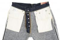 "Strike Gold ""Keep Earth"" Natural Indigo Jeans / 0104KE - Straight Tapered - Image 15"