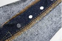 "Strike Gold ""Keep Earth"" Natural Indigo Jeans / 0104KE - Straight Tapered - Image 16"