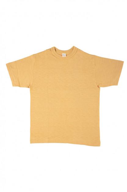 Warehouse Slub Cotton T-Shirt - Washed-Out Orange