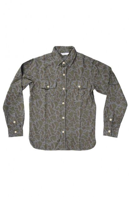 3sixteen CPO Shirt - Earth Arp Camo Overdyed