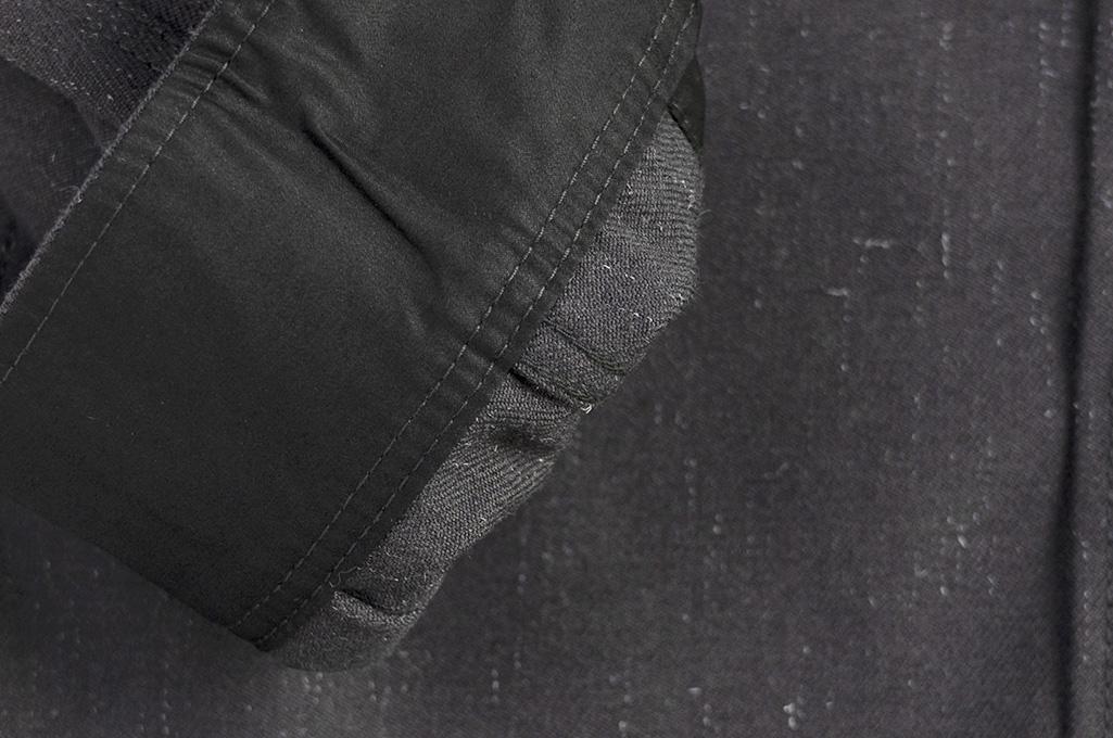 Iron Heart Woolen Serge Workshirt - Black - Image 6