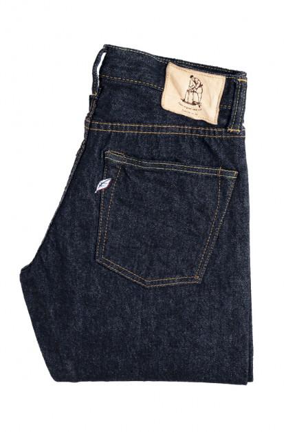 Pure Blue Japan NP-13.8oz-013 Nep Denim Jeans - Slim Tapered 13.8oz