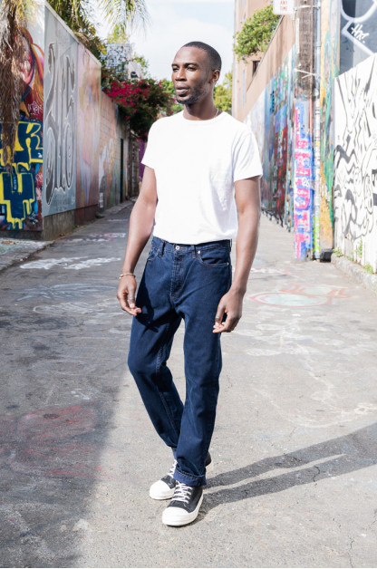 3sixteen Arcoíris Collection / CT-100x Overdyed Classic Tapered Jeans - Cobalt