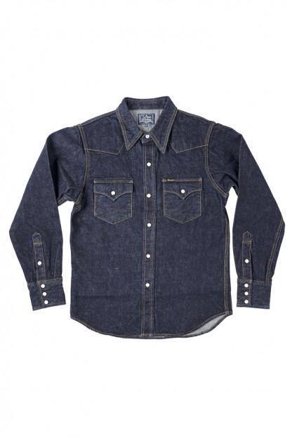 Studio D'Artisan 14oz Denim Western Snap Shirt