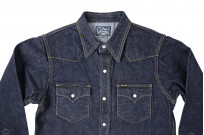 Studio D'Artisan 14oz Denim Western Snap Shirt - Image 2