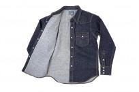 Studio D'Artisan 14oz Denim Western Snap Shirt - Image 9