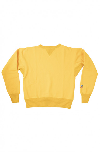 """Mister Freedom """"The Medalist"""" Crewneck Sweater - Gold"""