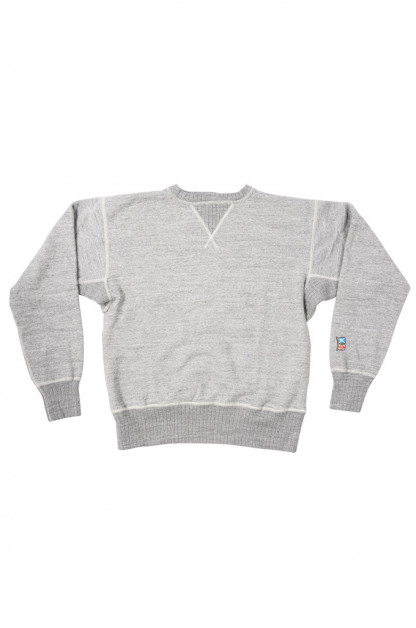 """Mister Freedom """"The Medalist"""" Crewneck Sweater - Heather Gray"""