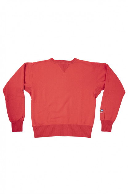 """Mister Freedom """"The Medalist"""" Crewneck Sweater - Red"""