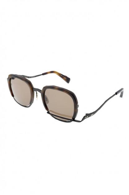 Masahiro Maruyama Titanium Sunglasses - MM-0060 / #3 Havana/Brown