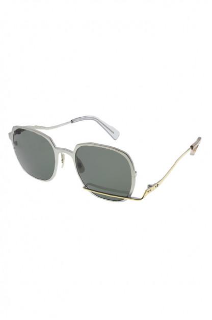 Masahiro Maruyama Titanium Sunglasses - MM-0059 / #3 Black/Gold
