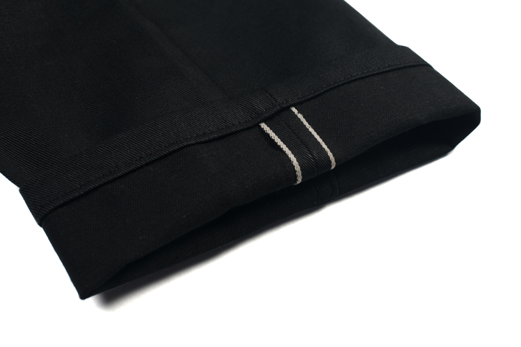 3sixteen Selvedge Chinos - Black - Image 1
