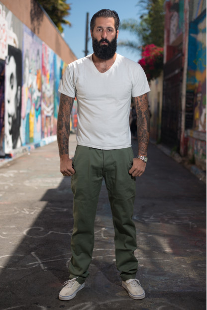 3sixteen Selvedge Chinos - Olive