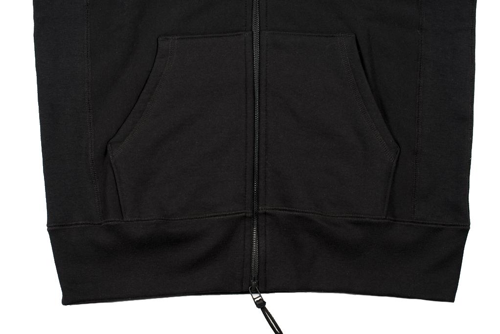 3sixteen Heavyweight Hoodie - Black - Image 2