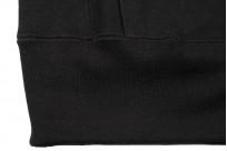 3sixteen Heavyweight Zippered Hoodie - Black - Image 1