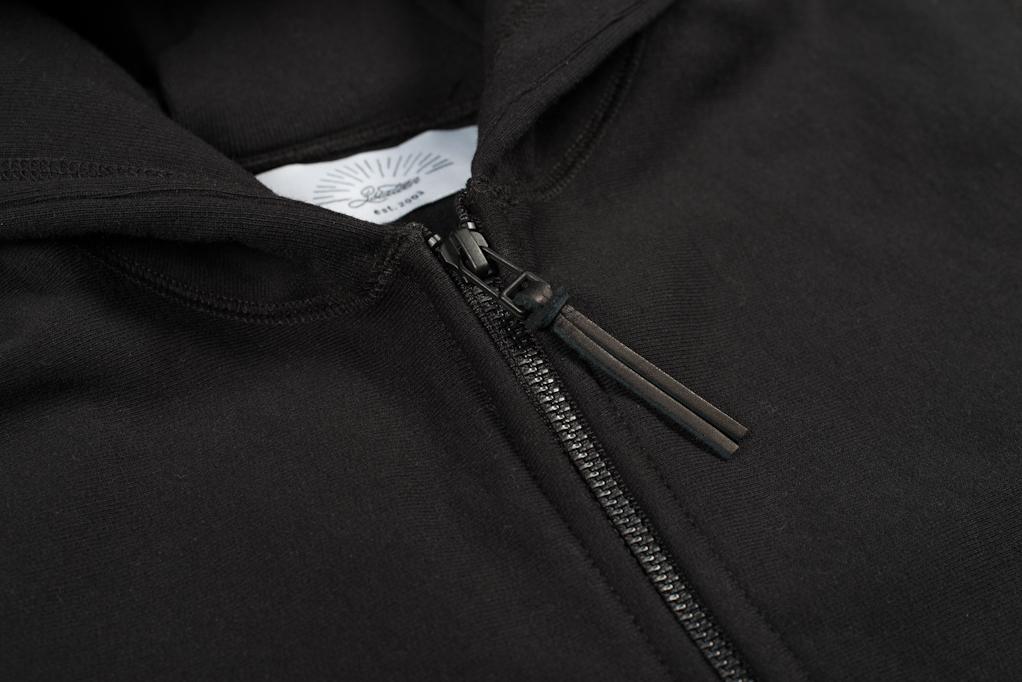 3sixteen Heavyweight Hoodie - Black - Image 3