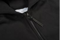 3sixteen Heavyweight Zippered Hoodie - Black - Image 7