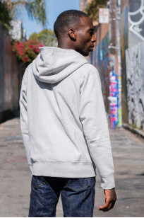 3sixteen Heavyweight Zippered Hoodie - Gray - Image 5