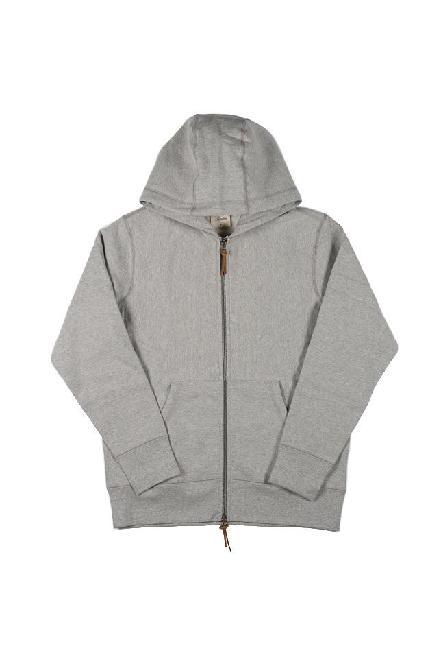 3sixteen Heavyweight Zippered Hoodie - Gray - Image 6