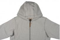 3sixteen Heavyweight Zippered Hoodie - Gray - Image 7
