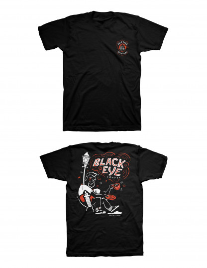 Self Edge x 3sixteen Black Eye T-Shirt