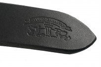 Studio D'Artisan Cowhide Leather Belt - Black - Image 3