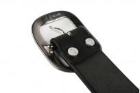 Studio D'Artisan Cowhide Leather Belt - Black - Image 4