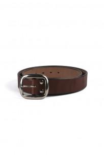 Studio D'Artisan Cowhide Leather Belt - Brown - Image 0