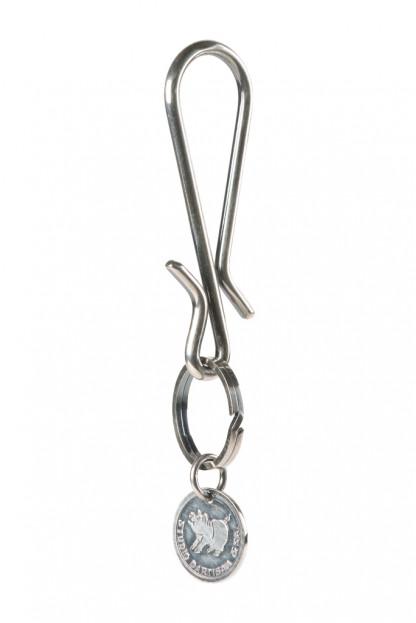 Studio D'Artisan Brass Keyhook - Silver