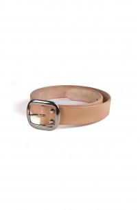 Studio D'Artisan Cowhide Leather Belt - Tan - Image 0