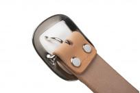 Studio D'Artisan Cowhide Leather Belt - Tan - Image 3