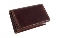 Flat Head Hand-Sewn Cordovan Wallet - Image 1