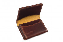 Flat Head Hand-Sewn Cordovan Wallet - Image 4