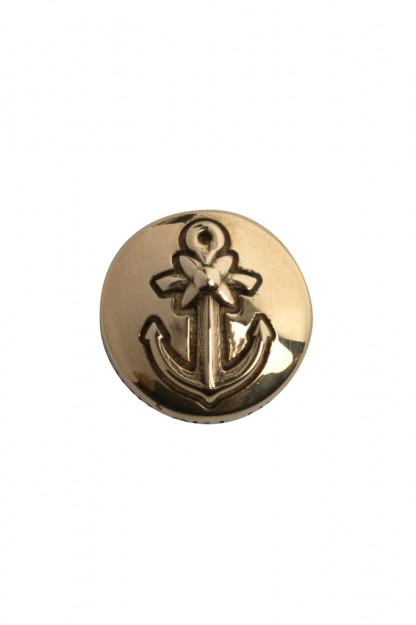 Good Art Brass Snap Button - Anchor