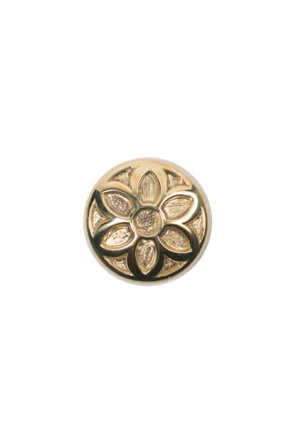 Good Art Brass Snap Button - Rosette