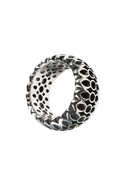 Good Art Rocklock Sterling Ring