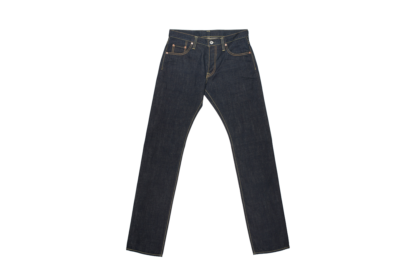 Iron Heart 301N 17oz Natural Indigo Jean - Slim Tapered - Image 5