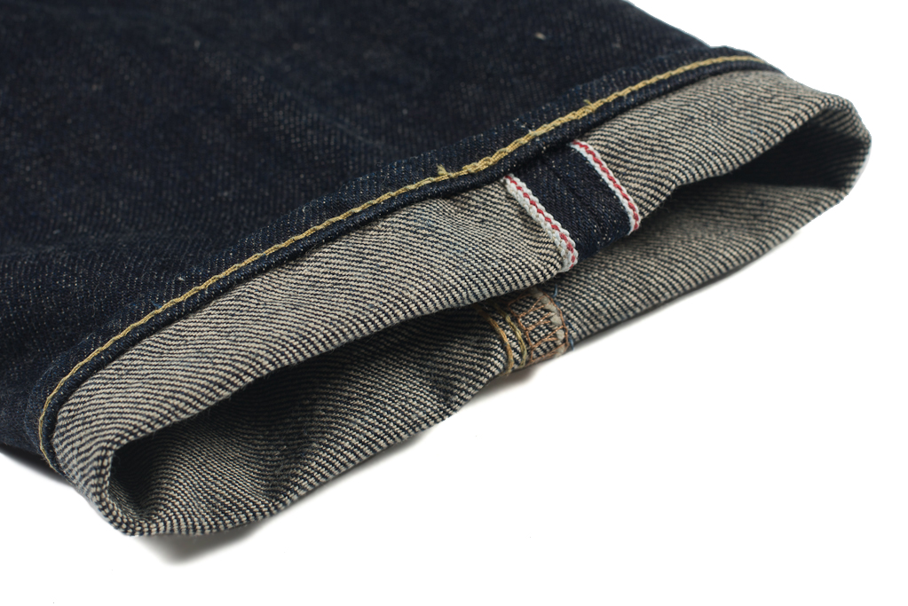 Iron Heart 301N 17oz Natural Indigo Jean - Slim Tapered - Image 1