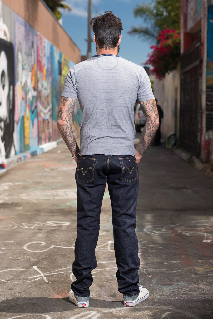 Iron Heart 633s-14 Lightweight 14oz Denim Jean - Straight Tapered - Image 1