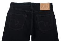 Iron Heart 633s-OD Overdyed 18oz Denim Jeans - Straight Tapered - Image 3