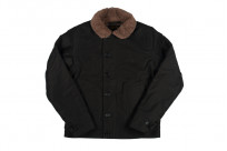 Iron Heart Alpaca-Lined N-1 Deck Jacket - Black - Image 14