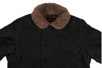 Iron Heart Alpaca-Lined N-1 Deck Jacket - Black - Image 13