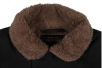Iron Heart Alpaca-Lined N-1 Deck Jacket - Black - Image 12