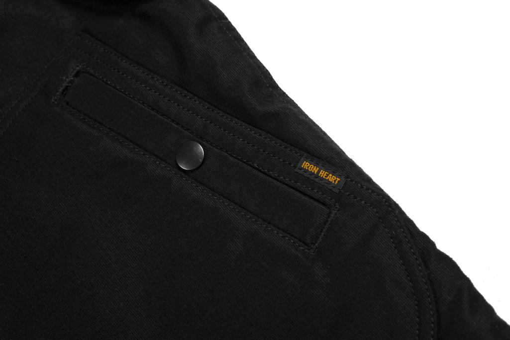 Iron Heart Alpaca-Lined N-1 Deck Jacket - Black - Image 10