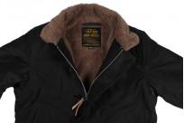 Iron Heart Alpaca-Lined N-1 Deck Jacket - Black - Image 7
