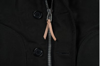 Iron Heart Alpaca-Lined N-1 Deck Jacket - Black - Image 5