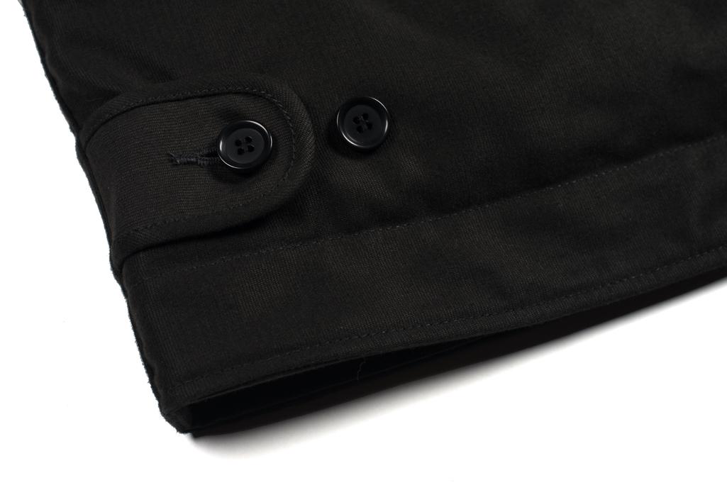 Iron Heart Alpaca-Lined N-1 Deck Jacket - Black - Image 2