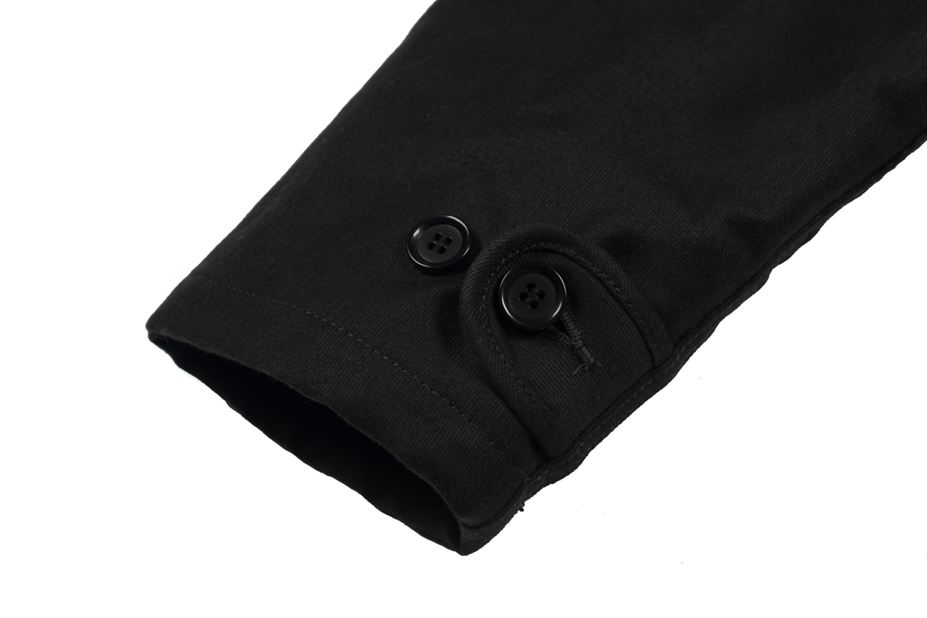 Iron Heart Alpaca-Lined N-1 Deck Jacket - Black - Image 1