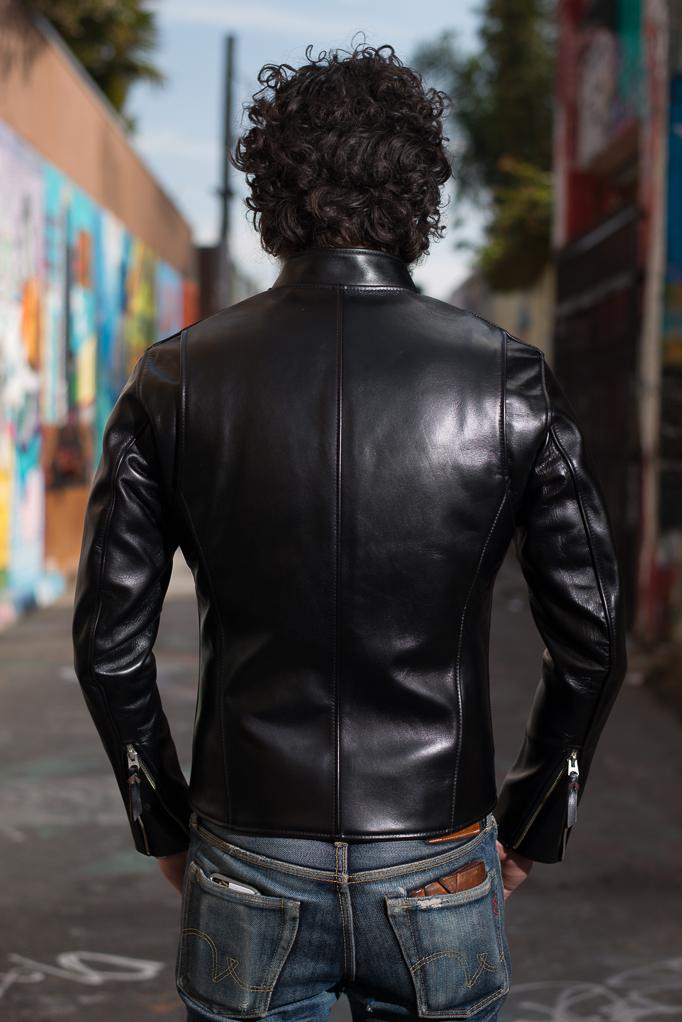 Iron Heart Horsehide Leather Jacket - Black Battle Edition - Image 1