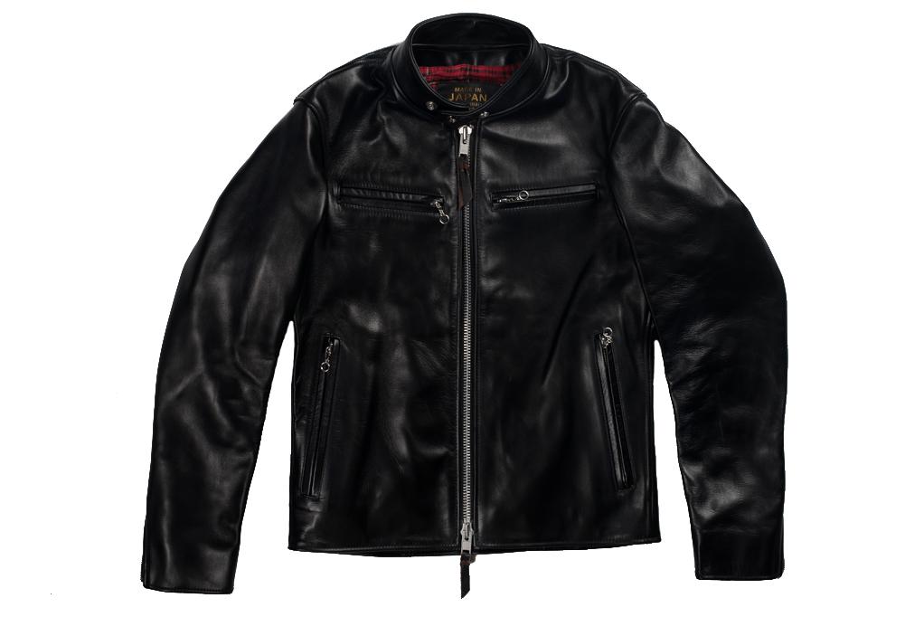 Iron Heart Horsehide Leather Jacket - Black Battle Edition - Image 10